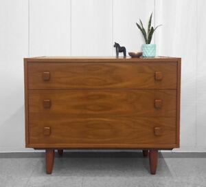Vintage Danish Teak Dresser / Wardrobe