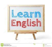 Cours d'anglais/tuteur/récupération