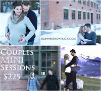 COUPLES MIN SESSIONS - $225