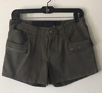 NWT Joes Jean The Pant Shorts Olive Green Sz 25