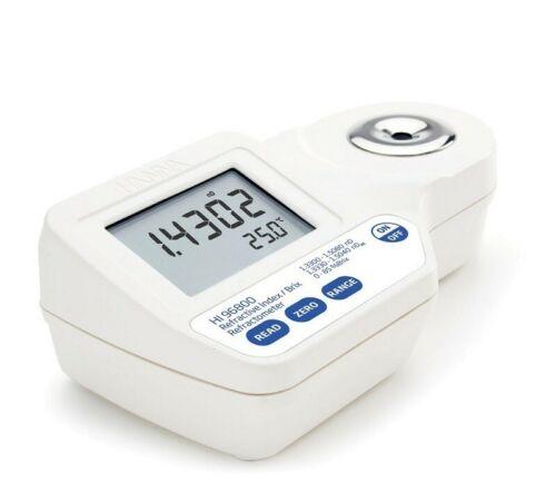 Hanna Instruments HI96800 digital brix refractometer hydroponic greenhouse
