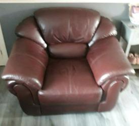 Napoli leather 3 piece suite