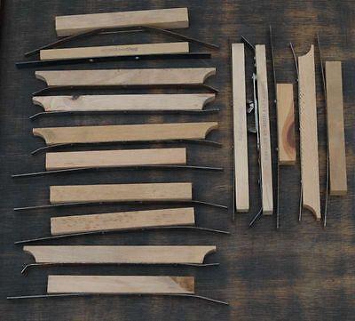 15 Spannleisten für Steckschriftkasten Bleisatz Druckerei letterpress Druck