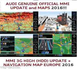 audi q5 q7 mmi 3g update set 2016 maps mmi 3g high. Black Bedroom Furniture Sets. Home Design Ideas
