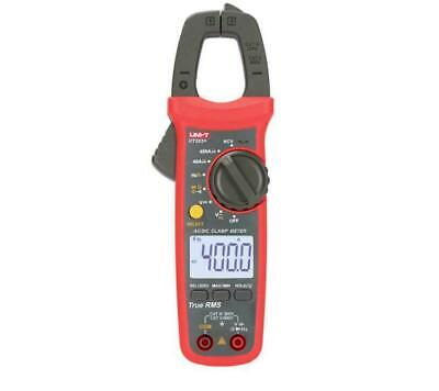 Uni-t Ut203 Digital Handheld Clamp Meter Ac Dc Current Tester 400-600atrue Kd