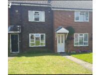 Lovely 2 bed house in woodbridge. Desire 3-4 bed for an exchange