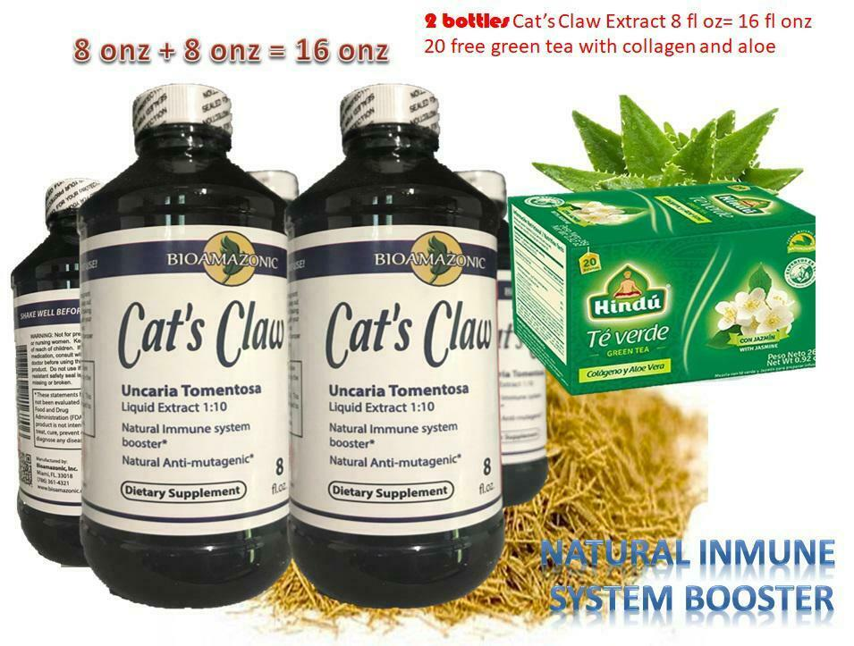 CAT'S CLAW Extract inmune support Antiviral Anti-inflammatory Powerful Folk 2 bt