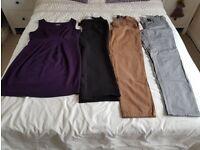 Size 10 Maternity clothes bundle