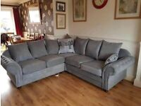 FACTORY-PACKED NICOLE CORNER SOFA AND 3+2 SOFA SET AVAILABLE