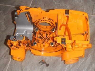 Classic Poulan Pro PP4218AV Used OEM Chainsaw Parts Engine Housing Tank Crank