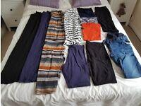 Size 12 Maternity Clothes Bundle