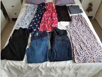 Size 14 Maternity Clothes Bundle