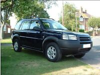 Land Rover Freelander 1.8 GS 4x4 5dr Petrol Manual - Blue