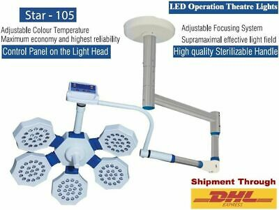 Examination Ot Light Operation Theater Surgical Ledlamp Dual Color Lux Intensity