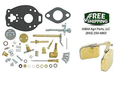 Complete Carburetor Kit Float Ih Farmall A Av B Bn Super A Tsx156 Marvel Carb