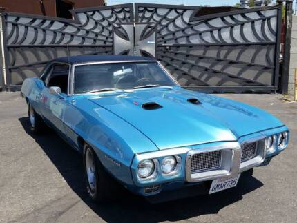 1969 Pontiac Firebird 400cui TH400 10yrs on resto Great car