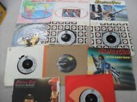 SMALL NUMBER OF STATUS QUO SINGLES. NO REASONABLE OFFER REFUSED.
