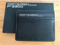 Porsche design leather name card holder - BRAND NEW