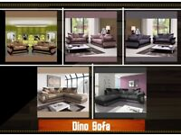 New Soft Comfortable Dino Sofa in Corner and 3+2 Seat Sofa Set at Discount Price**Sensational Offer*
