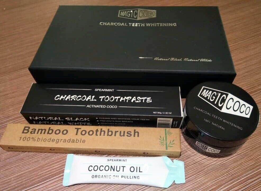 MagicCoco 100% Natural Charcoal Teeth Whitener! | in Westcliff-on-Sea,  Essex | Gumtree