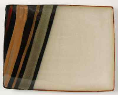 Sango AVANTI BLACK Rectangular Serving Platter 9449898 ()
