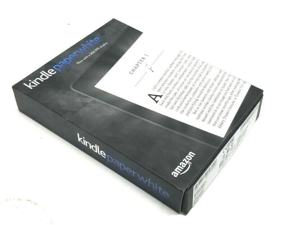 Amazon kindle paperwhite (7th generation) 4gb, wi-fi (débloqué)