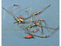 10 Pk 1N270 Germanium Diodes Transitron Vintage NOS Guitar Pedal Mods Klone