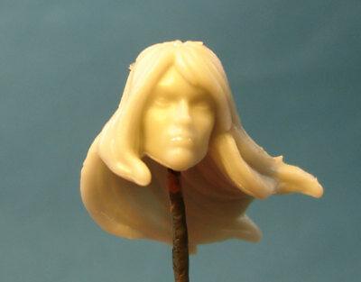 "FH057 Custom Cast Female head use with 3.75/"" GI Joe Star Wars Marvel figures"
