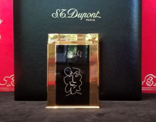 Rare Limited Edition S.T. Dupont Picasso Jeroboam Table Lighter #131/500