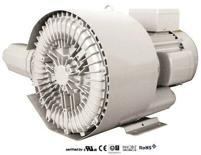 Pacific Regenerative Blower Pb-402 Hrb-402 Ring Vacuum And Pressure Blower
