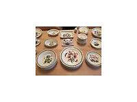 "22 Pieces Portmerion ""Botanic Garden"" China Kitchenware *Willing to Separate*"