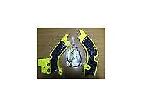 New Acerbis Frame Guards RMZ 450 08-17 Protectors X Grip Yellow/Black RMZ450