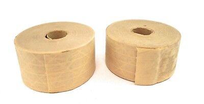 Uline Industrial Reinforced Kraft Tape - 2.75 X 375 Lot Of 2 Rolls