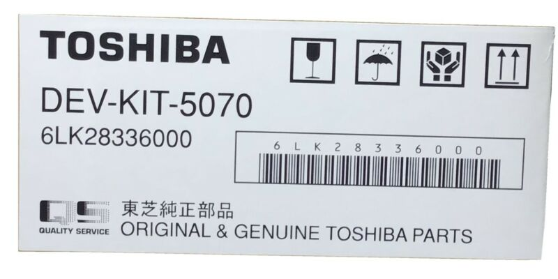 TOSHIBA DEVELOPER DEV-KIT-5070 PART 6LK28336000 & DRUM OD-4530 PART 6LH58311200