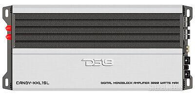 DS18 Candy-XXL1SL 3000 Watt Monoblock Amplifier Car Class D Mono Subwoofer Amp ()