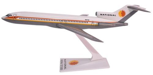 Flight Miniatures National Airlines Boeing 727-200 Desk Top 1/200 Model Airplane
