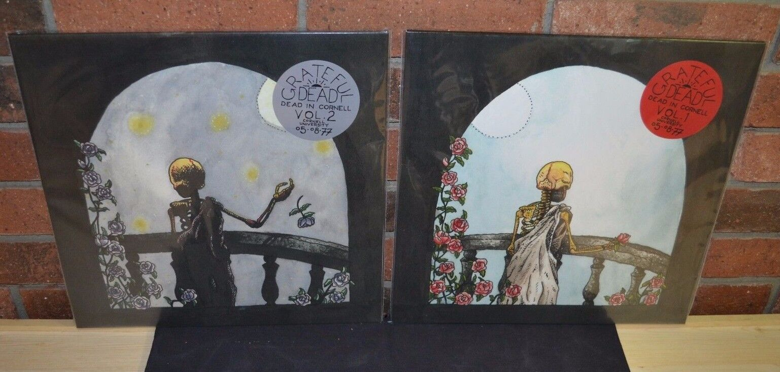 THE GRATEFUL DEAD - Dead In Cornell Vol 1 & 2 4LP Set BLACK VINYL New!