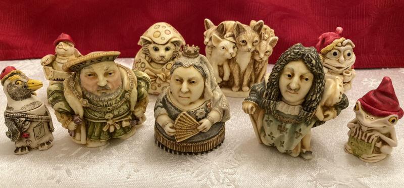 Harmony Kingdom – Nine Figure Collection Lot