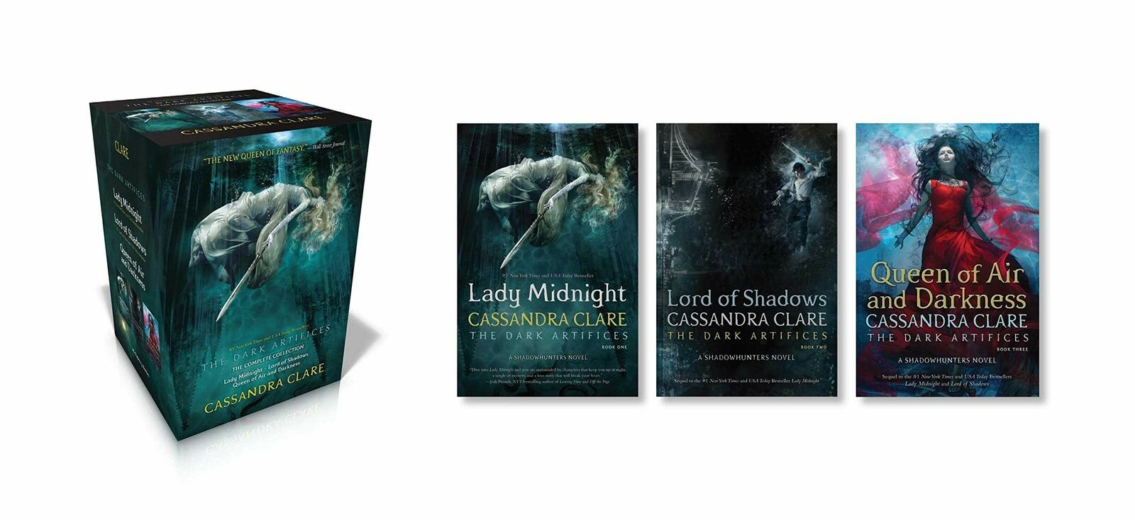 The Dark Artifices Box Set by Cassandra Clare Paperback Book Free Shipping!