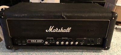 RARE Marshall Valve Bass Amplifier VBA 400 Watt All Tube New Tubes/Bias/Overhaul Marshall Bass Amps