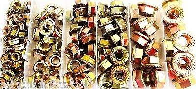 140pc GOLIATH INDUSTRIAL FLANGE NUT METRIC ASSORTMENT FNA140 WASHER BOLT