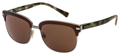 Burberry Sunglasses BE 4232 361973 56 Gunmetal/Green Havana Frame | Brown (Burberry Gunmetal Sunglasses)