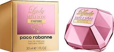 PACO RABANNE LADY MILLION EMPIRE 30ML EAU DE PARFUM SPRAY BRAND NEW & SEALED