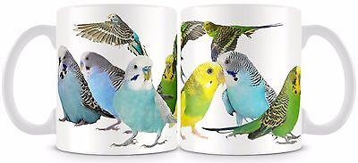Budgerigar Mug 11oz Budgie Bird
