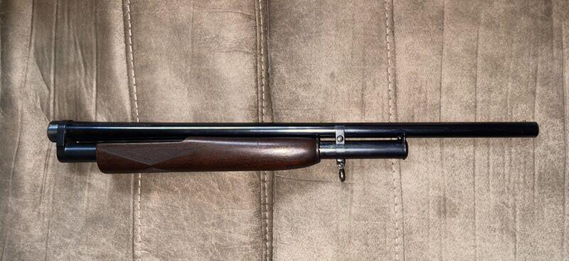 "Winchester Model 12 12 Gauge 26"" Modified Choke Shotgun Barrel & Forend Assembly"