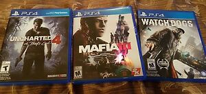 Practically Brand New PS4 (3 Games 4 Sale)