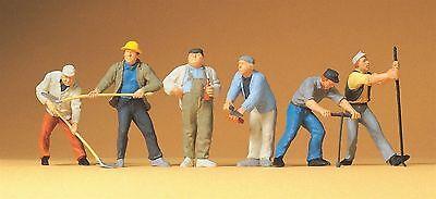 Preiser Spur 0  Art.Nr. 65331  Bauarbeiter.  Maßstab 1:43