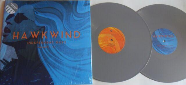 LP HAWKWIND Independent Days Vol. 1&2 (2LP) (Re) Ltd. Ed. Of 500 - GREY VINYL