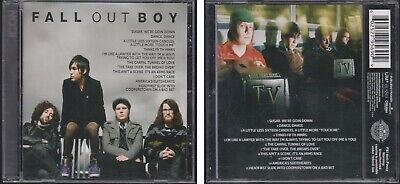 FALL OUT BOY Icon 2012 Greatest Hits CD Sugar, We're Goin' Down Best (Fall Out Boy Sugar Were Goin Down)