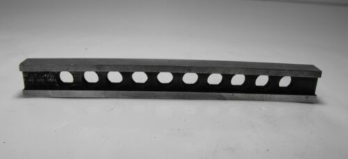 """6"""" MACHINIST PARALLEL BARS  WITH HOLES I BEAM STYLE JIG"""